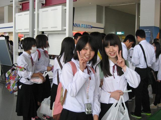 八鹿高等学校制服画像